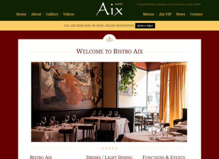 crouch end media bistro aix