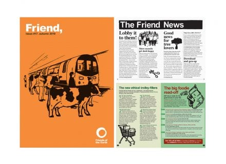 crouch end media friends of the earth magazine