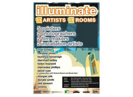 crouch end media illuminate flyer