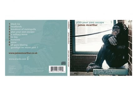 crouch end media james mcarthur cd cover