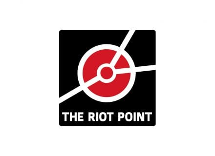 crouch end media riot point logo