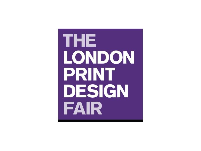 the london print design fair logo crouch end media