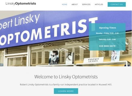 crouch end media linsky optometrists