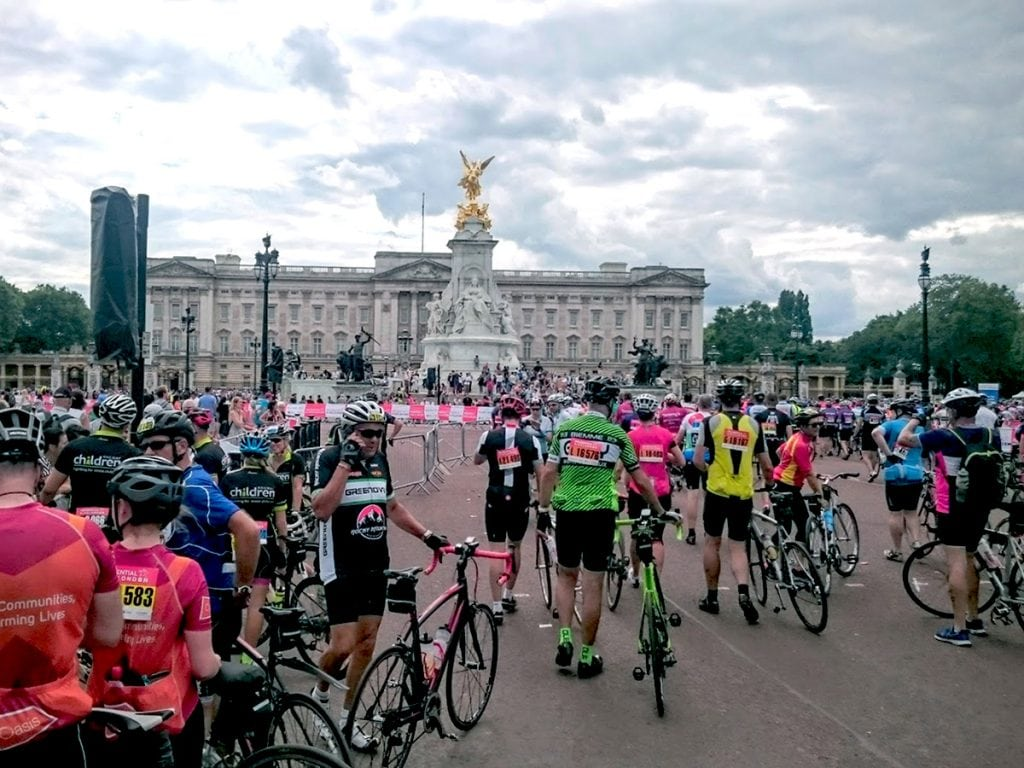 crouch end media prudential ride 100 mile cycle for charity