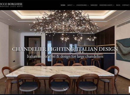Rocco Borghese website by Crouch End Media